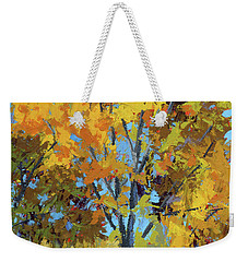 Autumn Delight Weekender Tote Bag