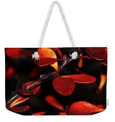 Autumn Details Weekender Tote Bag
