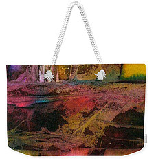Weekender Tote Bag featuring the painting Autumn Dream by Mary Sullivan