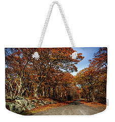 Weekender Tote Bag featuring the photograph Autumn Dreams 1 by Lara Ellis