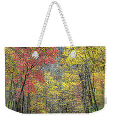 Autumn Drive Through Pisgah National Forest Weekender Tote Bag