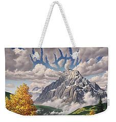 Autumn Echos Weekender Tote Bag by Jerry LoFaro