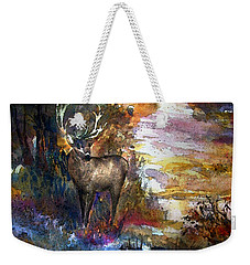 Autumn Encounter Weekender Tote Bag