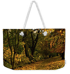 Autumn / Fall By The River Ness Weekender Tote Bag