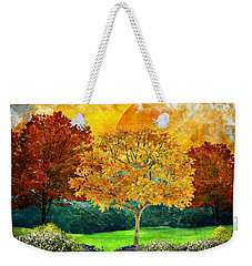 Autumn Fantasy Weekender Tote Bag by Ally White