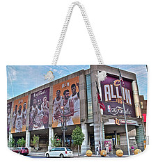 Home Team Champions Weekender Tote Bag by Frozen in Time Fine Art Photography