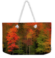 Autumn Fence Line Weekender Tote Bag