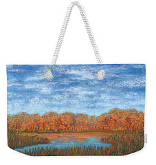 Autumn Field 01 Weekender Tote Bag