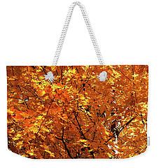 Autumn Flame Weekender Tote Bag