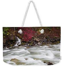 Autumn Flow Weekender Tote Bag