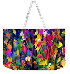 Autumn Flre Weekender Tote Bag