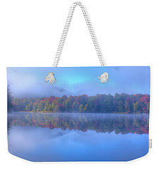 Weekender Tote Bag featuring the photograph Autumn Fog Lifting by David Patterson