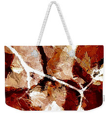 Autumn Fusion Weekender Tote Bag