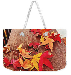 Autumn Gathering  Weekender Tote Bag