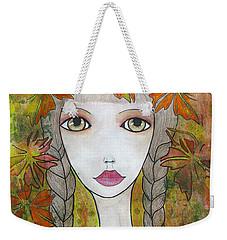 Autumn Girl  Weekender Tote Bag