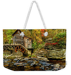 Autumn Glade Creek Grist Mill  Weekender Tote Bag