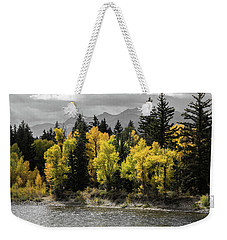Weekender Tote Bag featuring the photograph Autumn Glow by Colleen Coccia
