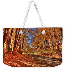 Autumn Glow Weekender Tote Bag by Dale R Carlson