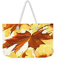 Autumn Greeting Weekender Tote Bag