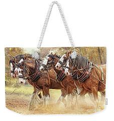 Autumn Harrow Weekender Tote Bag