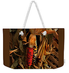 Weekender Tote Bag featuring the photograph Autumn Harvest by Kathleen Stephens