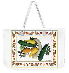 Autumn Harvest Weekender Tote Bag by Lise Winne