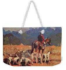 Autumn Hunt Crew Weekender Tote Bag