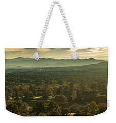 Weekender Tote Bag featuring the photograph Autumn In Ashville, Nc by Richard Goldman