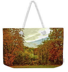 Weekender Tote Bag featuring the photograph Autumn In Chesham by Anne Kotan