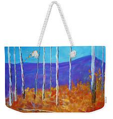 Autumn In Cloudcroft Weekender Tote Bag