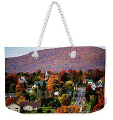 Autumn In Danville Vermont Weekender Tote Bag by Sherman Perry