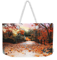 Autumn In Discovery Lake Weekender Tote Bag