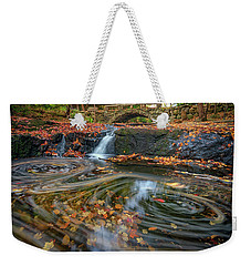 Weekender Tote Bag featuring the photograph Autumn In Hallowell by Rick Berk