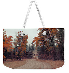 Autumn In Montana Weekender Tote Bag by Cathy Anderson