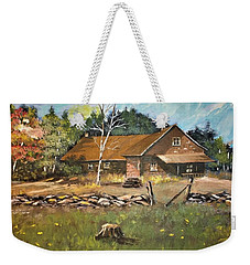 Autumn In Early  North West Territory Weekender Tote Bag