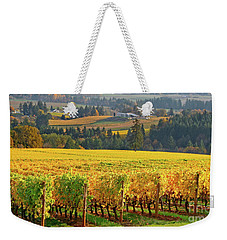 Autumn In Oregon Wine Country Weekender Tote Bag