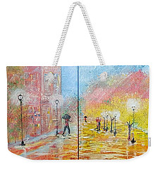 Autumn In Paris Weekender Tote Bag by Judi Goodwin