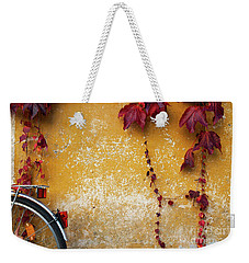 Autumn In Red Weekender Tote Bag