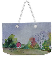 Autumn In Rural Ohio Weekender Tote Bag by Mary Haley-Rocks