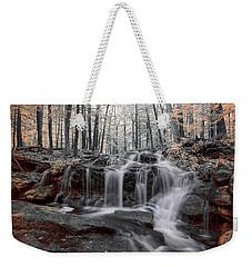 Autumn In Spring Infrared Weekender Tote Bag