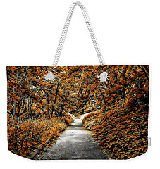 Autumn In Stamford Weekender Tote Bag