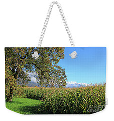 Autumn In Swiss Mountain Landscape Weekender Tote Bag