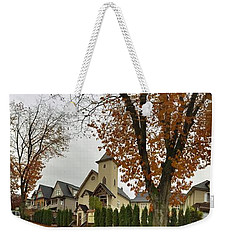 Autumn In The City 11 Weekender Tote Bag by Victor K