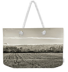 Autumn In The Countryside Bw Weekender Tote Bag