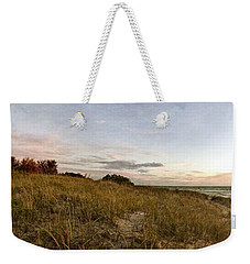 Weekender Tote Bag featuring the photograph Autumn In The Dunes by Michelle Calkins