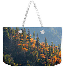 Autumn In The Feather River Canyon Weekender Tote Bag by AJ Schibig