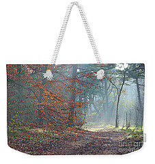 Autumn In The Forest, Painting Like Photograph Weekender Tote Bag