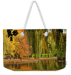 Autumn In The Garden Weekender Tote Bag
