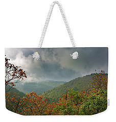 Autumn In The Ilsetal, Harz Weekender Tote Bag