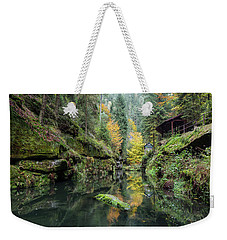 Autumn In The Kamnitz Gorge Weekender Tote Bag